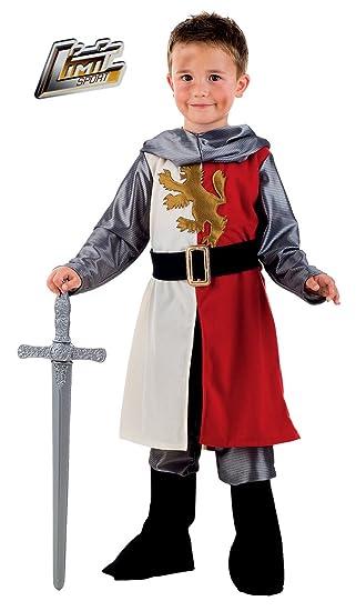 Limit Sport - Disfraz medieval de Cid para niños, talla 6 ...