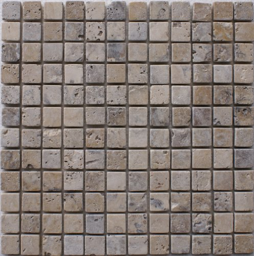 Epoch Tile PH1X1 1x1 Philadelphia Tumbled Travertine