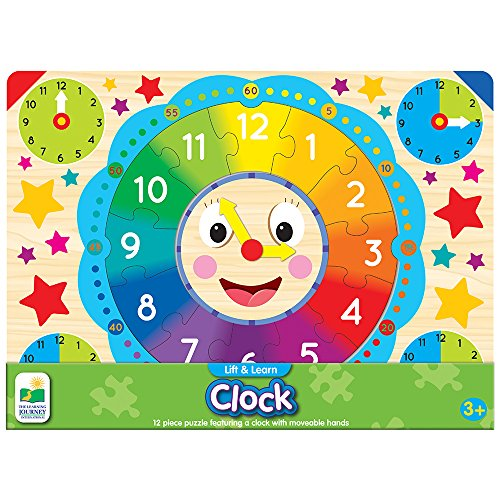 Clock Hands Puzzle - Lift & Learn Clock Puzzle