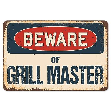 Betrothales Cuidado Con Grill Master Carteles De Chapa ...
