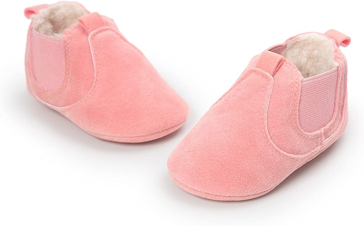 ESTAMICO Baby Jungen M/ädchen Freizeit Winter Sneakers Warm Schuhe