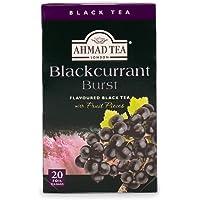 Ahmad Tea Blackcurrant Burst Black Tea, 20 Count (710)