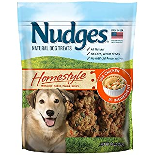 Nudges Homestyle Chicken Pot Pie Dog Treats, 10 oz