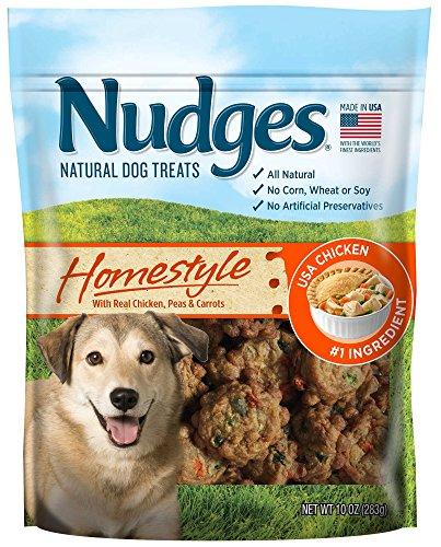 Nudges Homestyle Chicken Pot Pie Dog Treats, 10 oz
