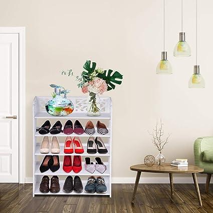5 Tier Shoe Racks and Organizers Closet Shoe Storage