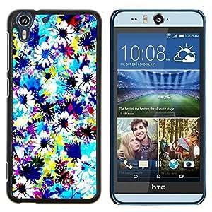 - fabric field sky painting - - Modelo de la piel protectora de la cubierta del caso FOR HTC Desire EYE M910x RetroCandy
