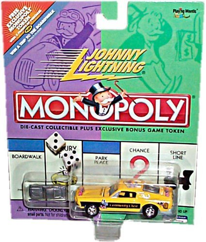 Johnny Lightning 2001 Monopoly Community Chest Ford Mustang Car