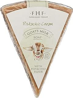 product image for FarmHouse Fresh Pistachio Cream Goats Milk Soap, Pistachio Cream, 4.5 oz