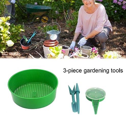 Juego de 4 accesorios de jardín de siembra de plástico para plantas de jardín, jarra para plantas de jardín: Amazon.es: Hogar