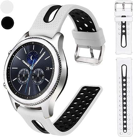 Amazon.com: Nigaee - Correa de silicona para reloj ...