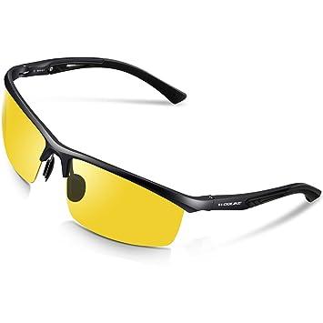 Amazon.com: WOOLIKE W819 Gafas de sol polarizadas de estilo ...