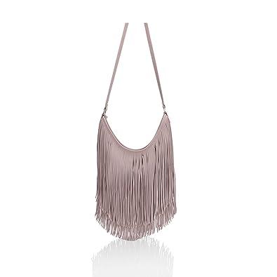 e2d9700a62124 SALE SALE New Womens Designer Style Fringe Shoulder Bag Faux Leather Tassel  Messenger Hand Bags