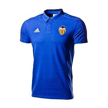 Adidas Valencia CF 2018-2019, Polo, Bold Blue-Dark Blue-White: Amazon.es: Deportes y aire libre