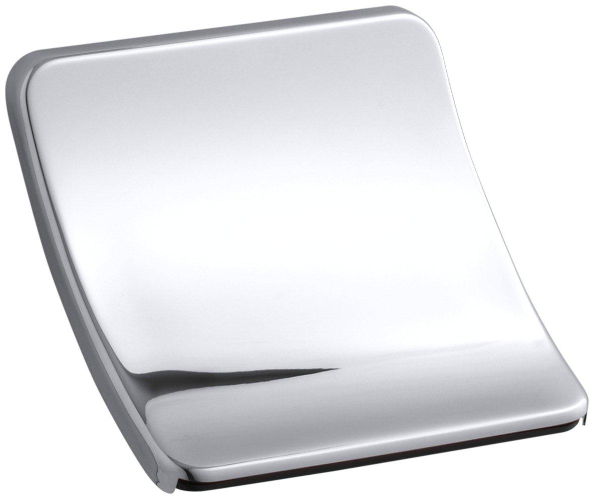KOHLER K-6946-CP Souris Wall-Mount Sheetflow Non-Diverter Bath Spout, Polished Chrome