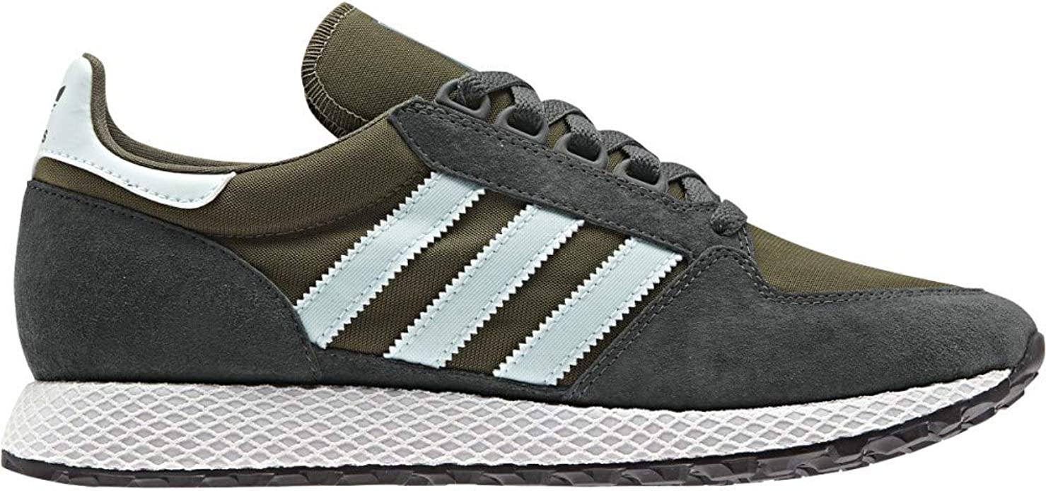 adidas Men's Forest Grove Gymnastics Shoes, Brown Raw Khaki/Active Teal/Night