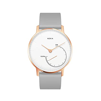 Withings Hwa01 All Inter Reloj con Seguimiento de Actividad, Mujer, Limited Edition Rose Gold