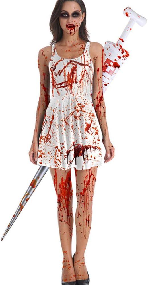 Ddl Vestido De Disfraces para Mujeres Disfraz De Halloween para ...