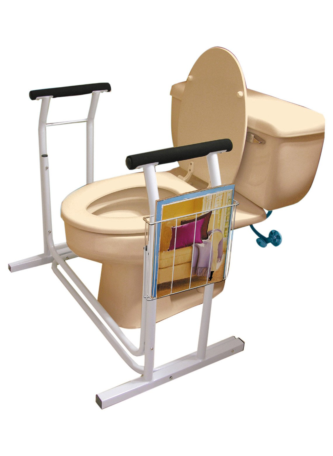 Ideaworks JB4349 Deluxe Toilet Safety Support