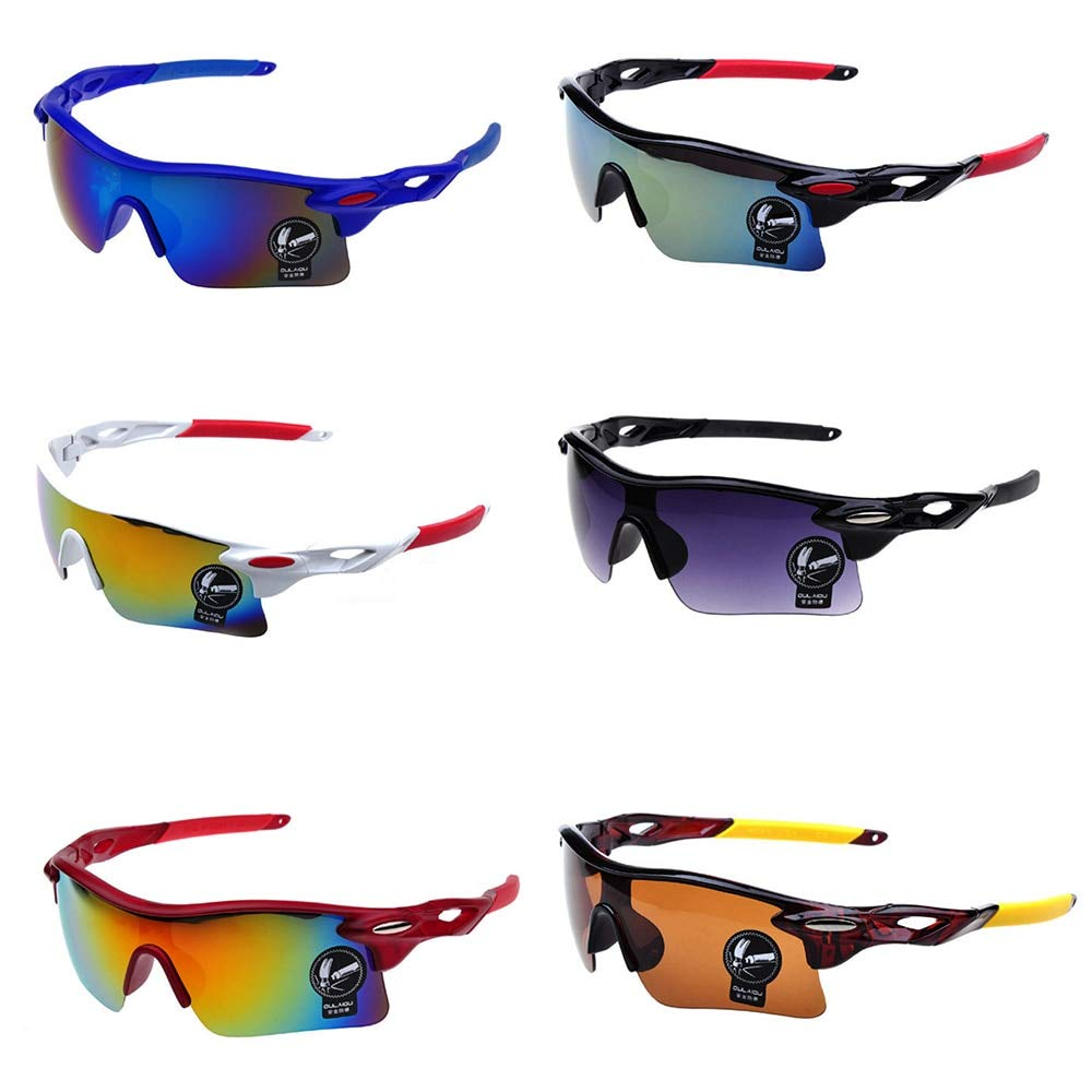 Alysontech Unisex Cycling Sunglasses Outdoor Sport Cycling MTB Mountain Bike Goggles Motorcycle Fish Sunglasses Cycling Eyewear
