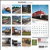 Railroads 2011 Square 12X12 Wall Calendar