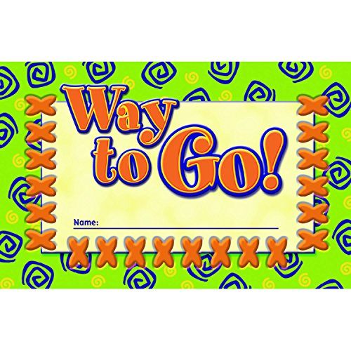 NORTH STAR TEACHER RESOURCE Way to Go! Incentive Punch Cards