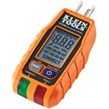 GFCI Receptacle Tester with LCD Display, for Standard 3-Wire 120V Electrical Outlets Klein Tools RT250