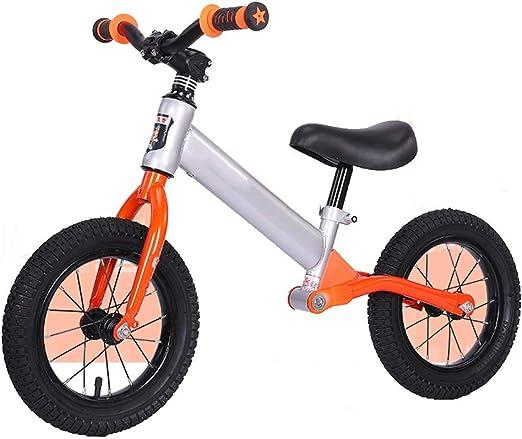 YUMEIGE Bicicletas sin pedales Bicicleta Sin Pedales 2-6 años usando carga 50 kg, altura 31.4-51.1in,Bicicletas sin pedales manillar de dirección 180 °, regalo for niños Bicicleta de Equilibrio para n: Amazon.es: Jardín