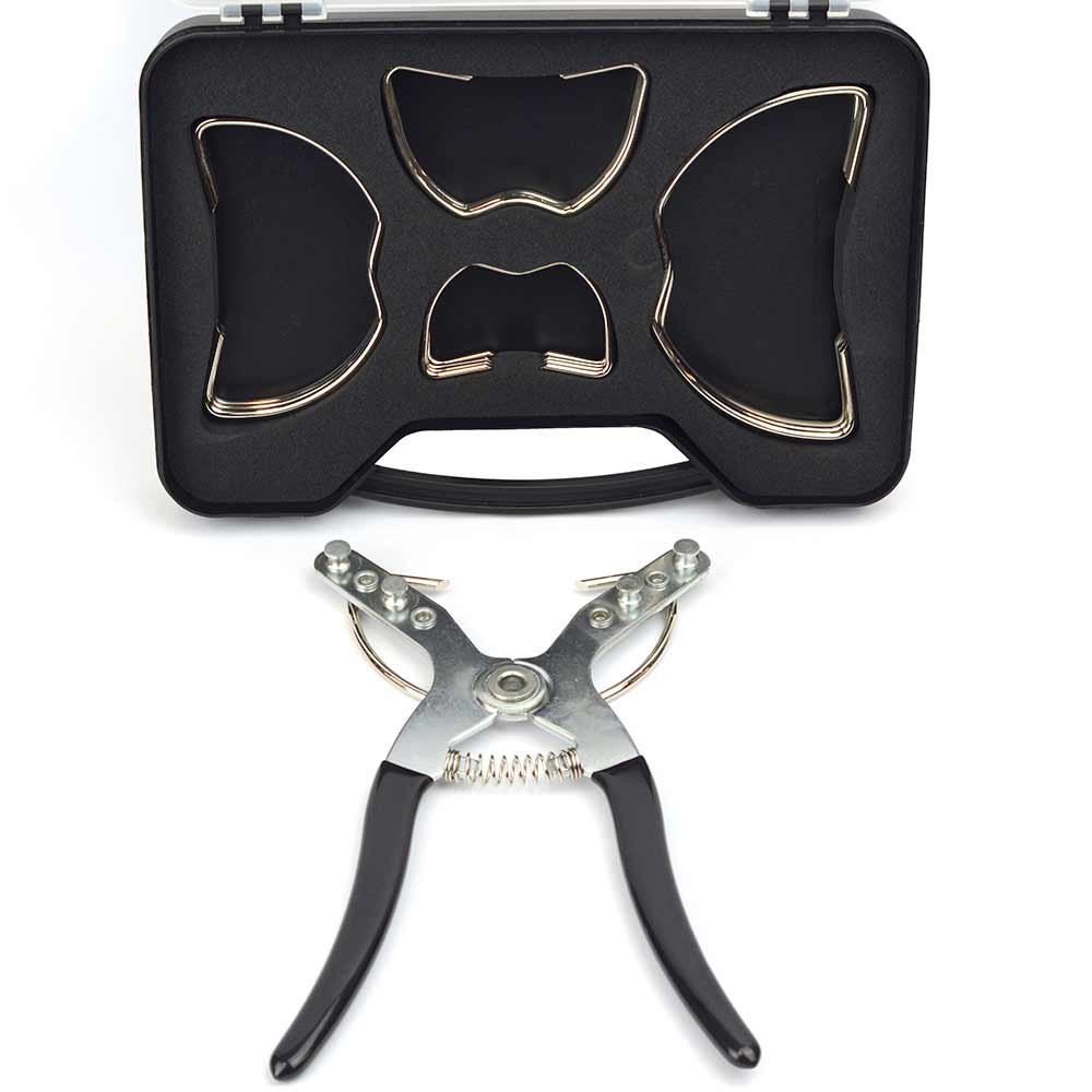 Big Horn 19674 Miter Clamp Set, 17-Pieces in Storage Box by Big Horn