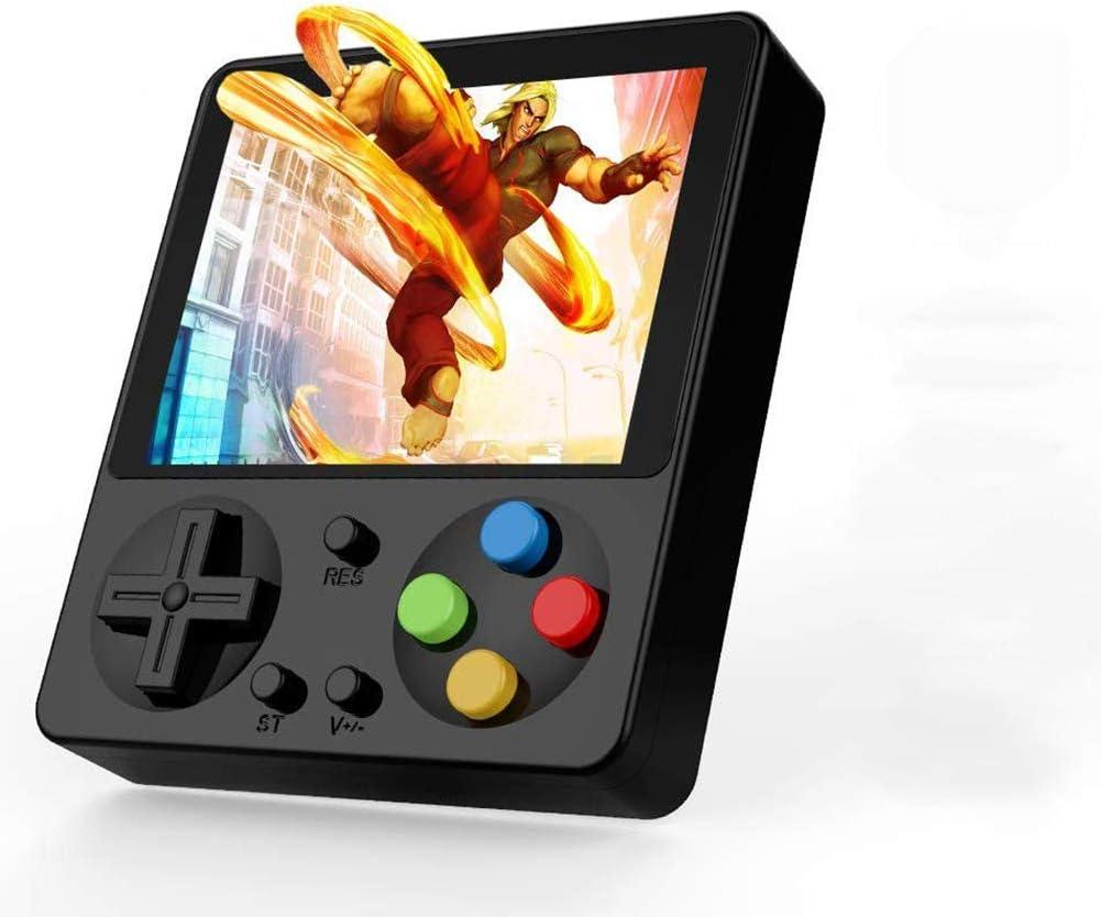 Amazon.es: King Bomb 333 Juegos incorporados. Consola de Juegos portátil con Pantalla LCD de 3.0 Pulgadas Batería de Litio Recargable de 800 mAh conectada al televisor (Incluido Cable AV) (Negro)
