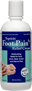 product image for Topricin Foot Pain Relief Cream 8 oz (Pack of 3)