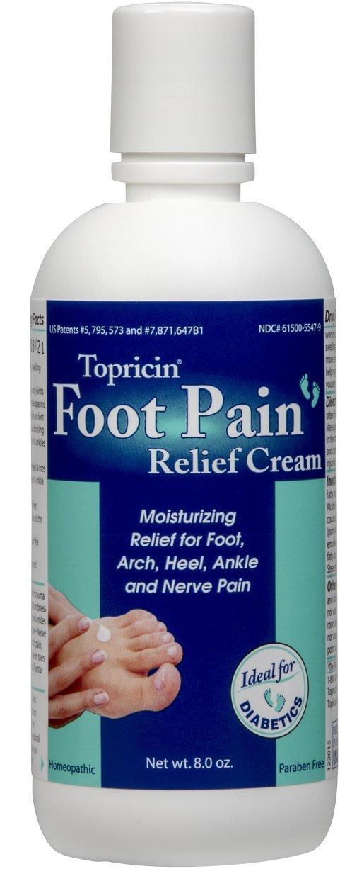 Topricin Foot Pain Relief Cream (8 oz)