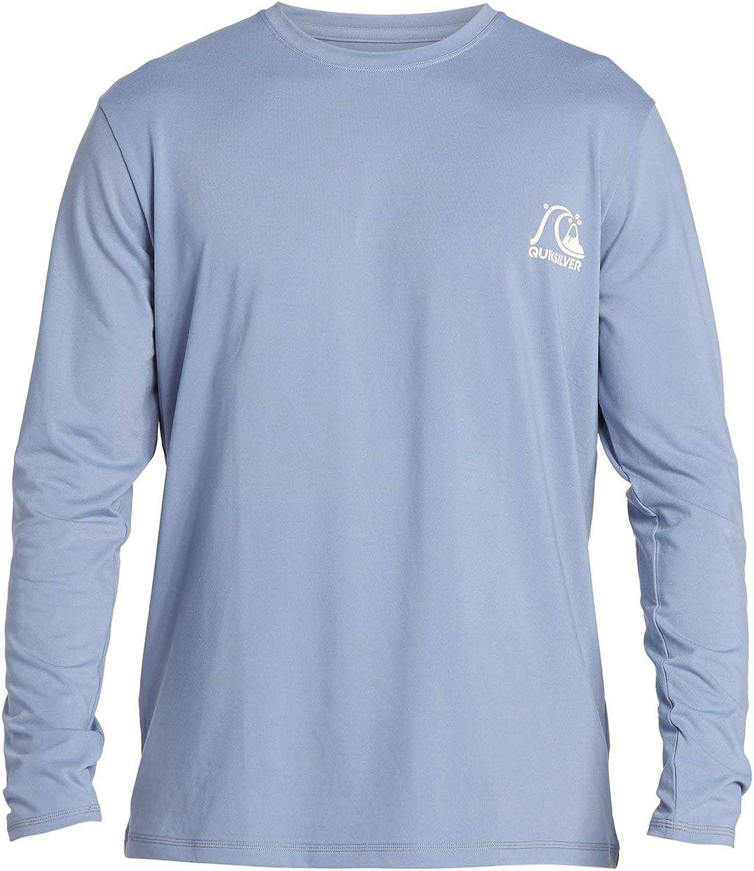 Quiksilver Men's Heritage Ls Long Sleeve Rashguard Surf Shirt