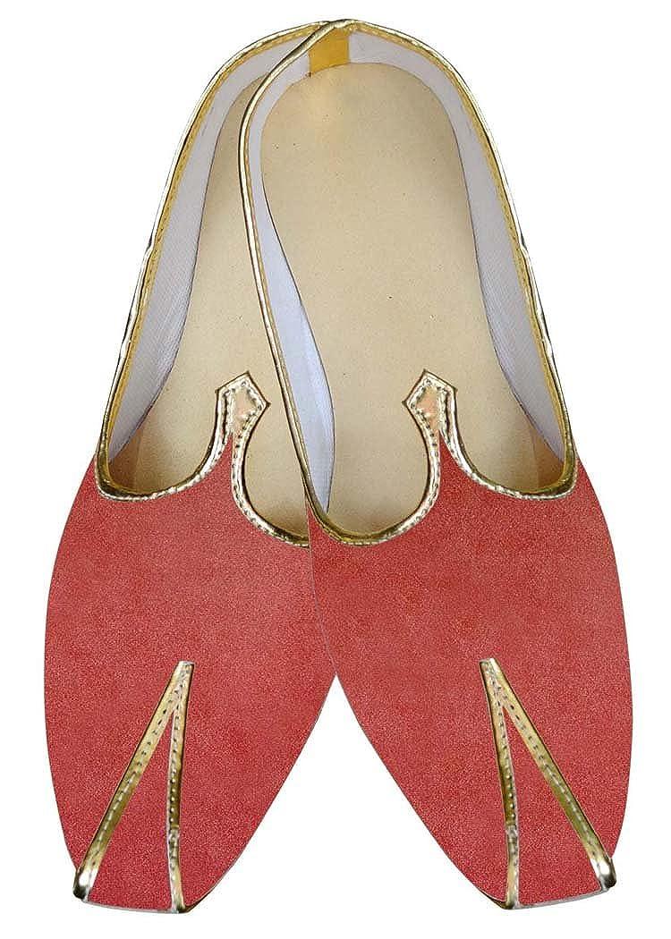 INMONARCH Salmón Hombres Boda Zapatos Lovely MJ013962 37.5 EU