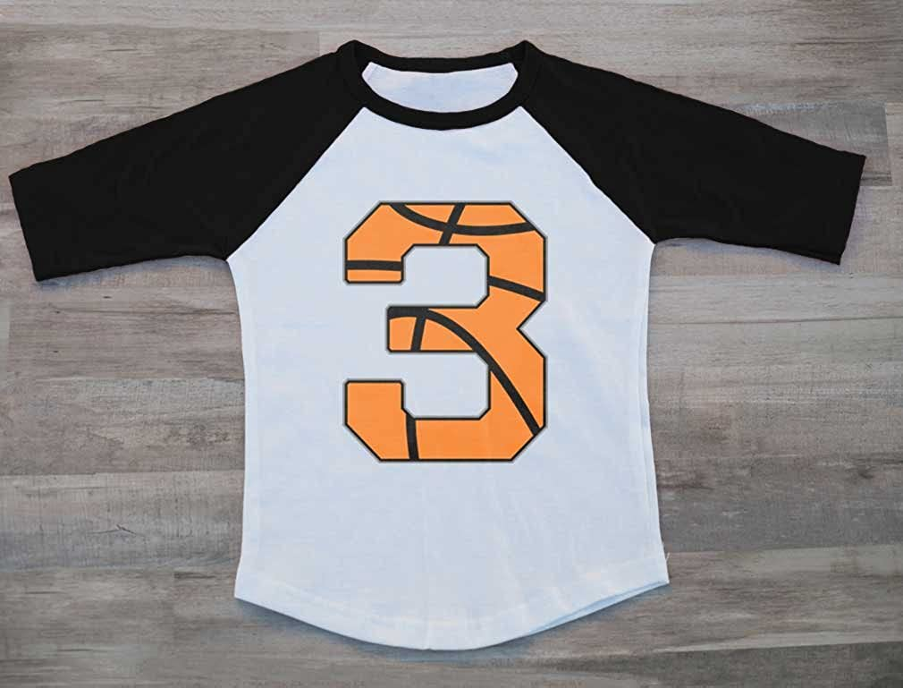 2 Year Old Birthday Gift Basketball Fan Toddler Raglan 3//4 Sleeve Baseball Tee