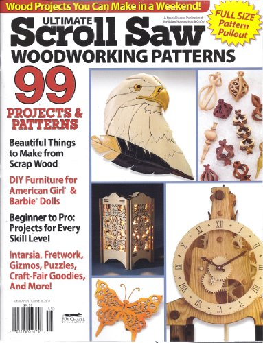 Ultimate Scroll Saw Woodworking Patterns ()