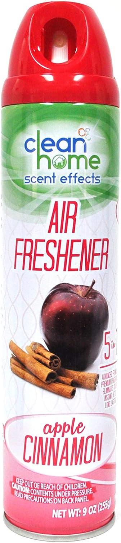 Smarthome Clean Home Scent Effects Apple Cinnamon Eliminator Air Freshener Spray