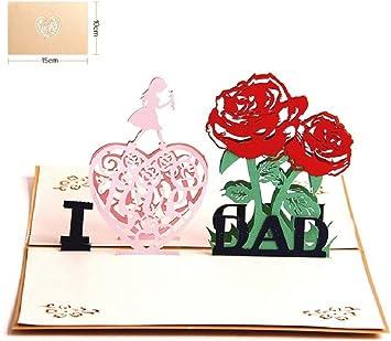 cadeau pour la f/ête des p/ères carte cadeau Carte de f/ête des p/ères cadeau pour lui papa de fille