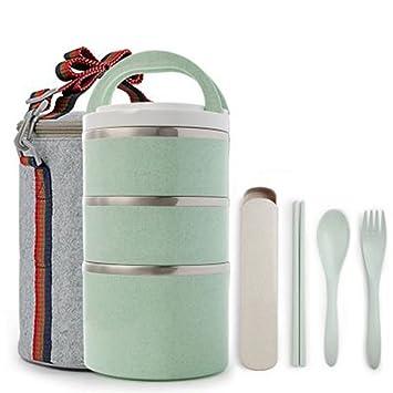 Compañero de viaje, Creative utensilios de cocina, portátil almuerzo cajas, cajas de almuerzo