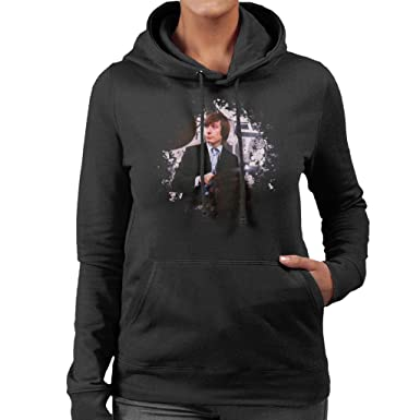 TV Times Charlie Watts Live Rolling Stones Women's Hooded