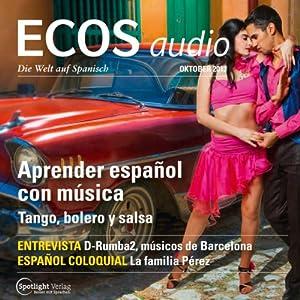 ECOS audio - Aprender español con música. 10/2013 Hörbuch