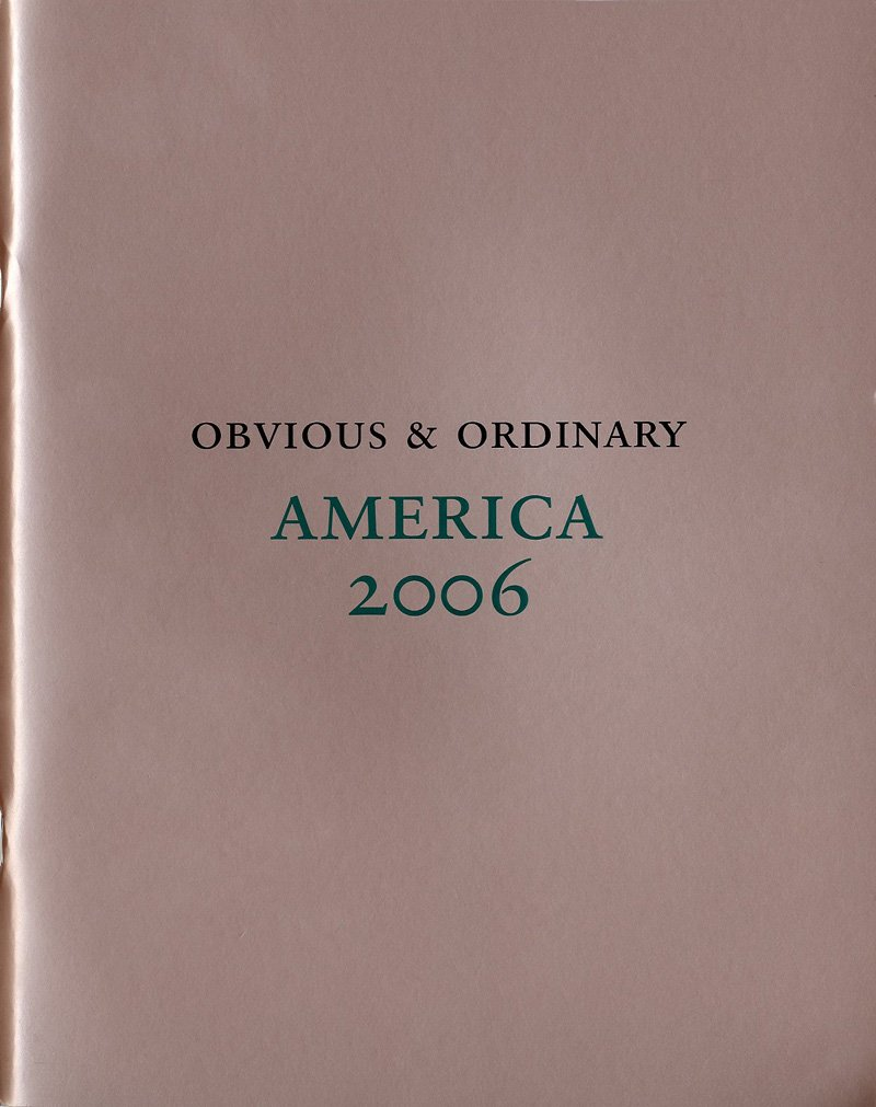 Download AMERICA 2006: PHOTOGRAPHS BY OBVIOUS & ORDINARY. PDF ePub book