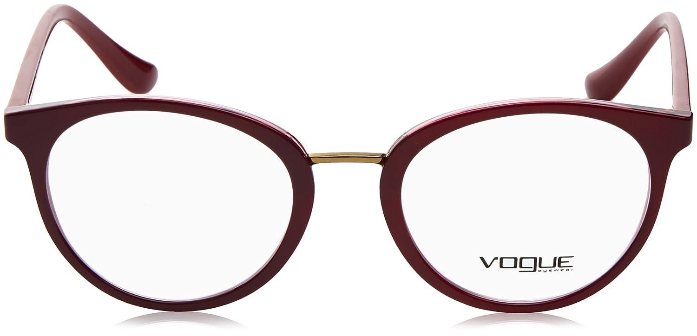 Amazon.com: Vogue vo5167 Eyeglass Marcos 2555 – 50 – Top ...