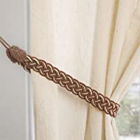 Hand Knitting Curtains Tied Rope Simple Type Curtain Tie Backs and Accessories