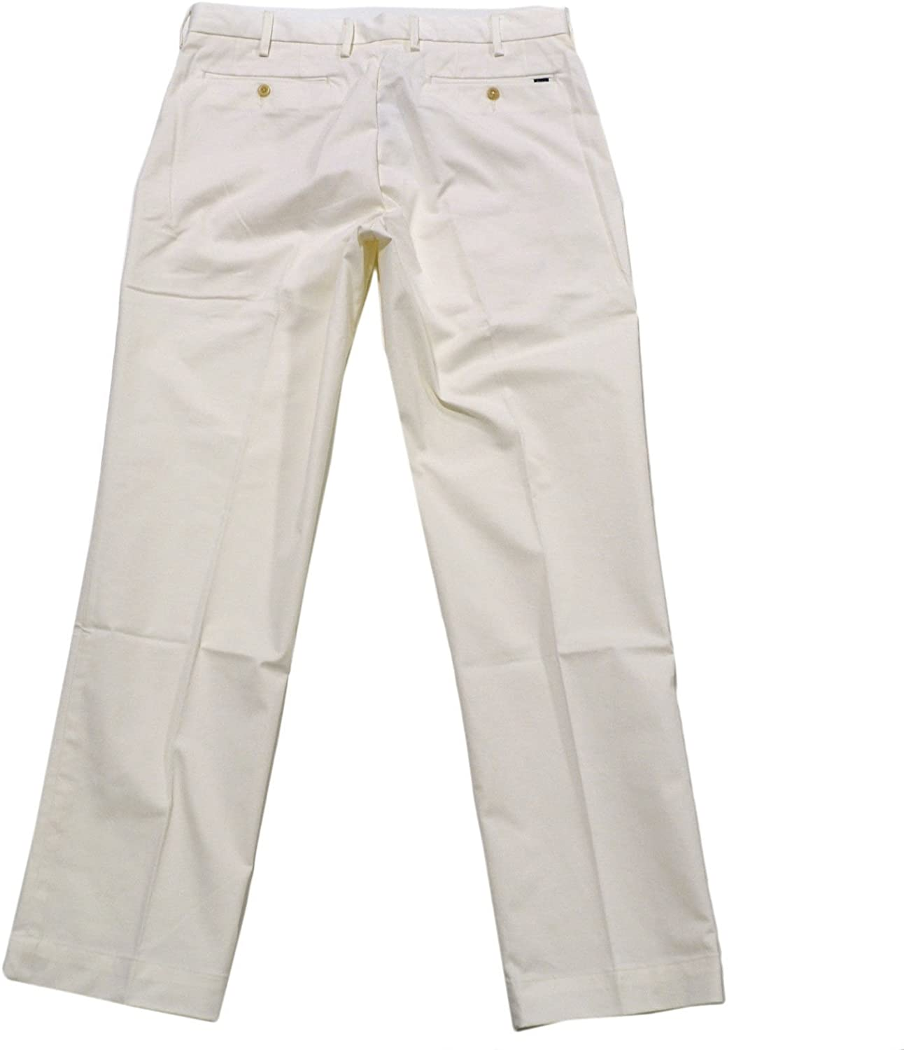 Polo Ralph Lauren Chinos Mens Stretch Classic Fit 40x30, Ivory