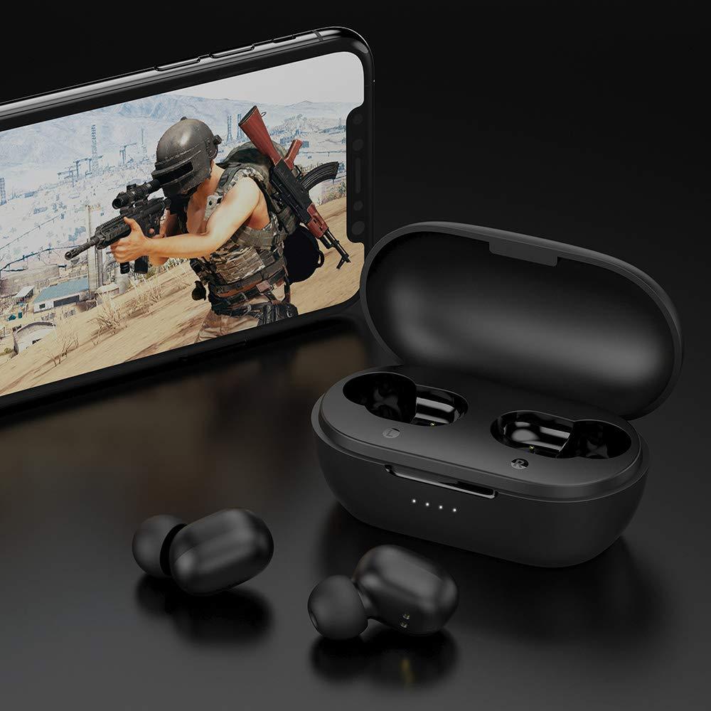 HAYLOU GT1 Pro TWS Auriculares inalámbricos Huella Digital Táctil Auriculares BT 5.0 AAC DSP Reducción de Ruido Llamada binaural Auricular Asistente ...