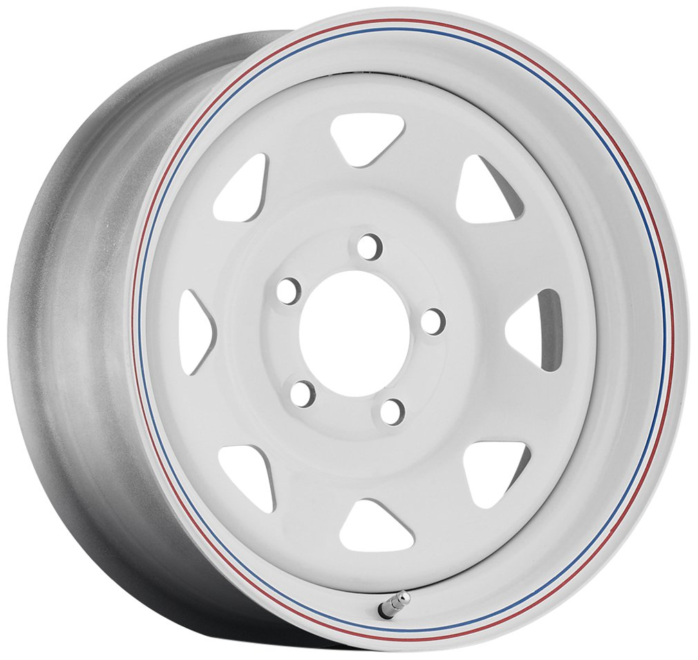 Sendel S62 White Wheel (166''/86.5inches 0mm Offset) S62-66866T