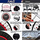 "RAVS Mini Trampoline for Kids Adults 48"" Foldable"