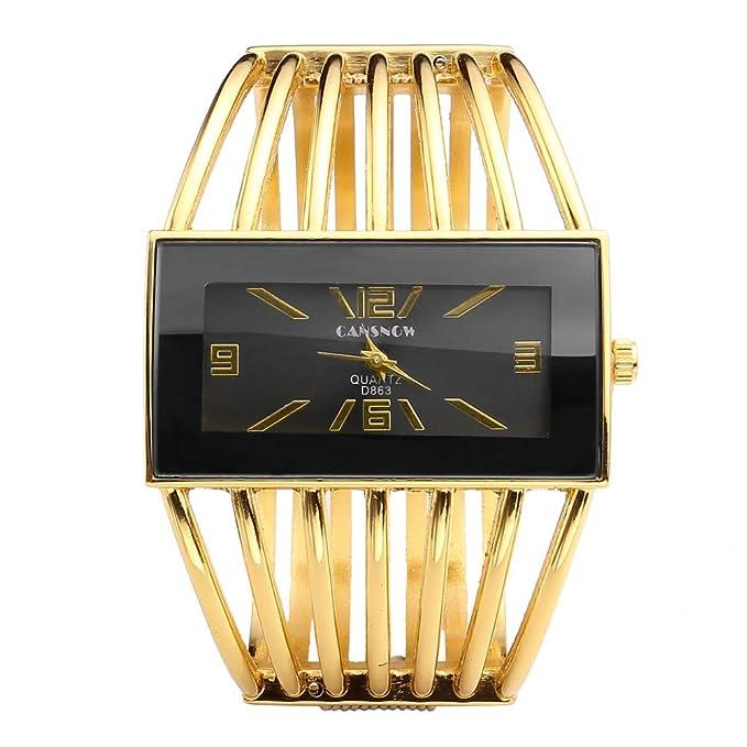 Reloj analógico de Pulsera para Mujer con Tono de Orohttps://amzn.to/2Z2aCB7