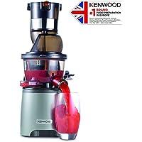 Kenwood Pure Juice ProJMP800SIExtracteur de Jus extra-sains (entrée Dual, utilisation Silencieux avec fonction de rinçage et bouchon anti-gouttes)