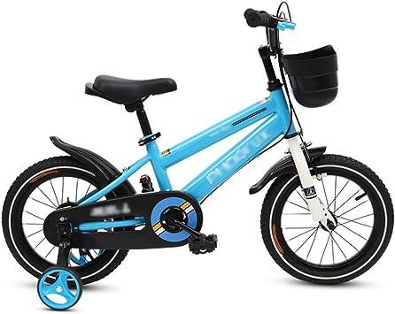 LJJL Bicicleta Infantil para Niños 2-3-5-6-7-10 Años Bicicleta ...